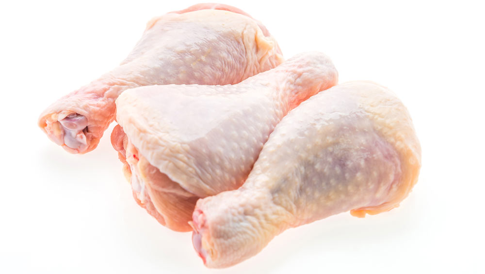 An example of raw chicken