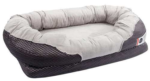 The BarksBar Orthopedic dog bed is a great choice for dogs with joint pain