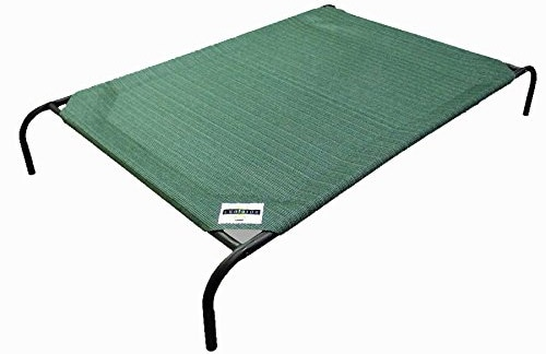 The Coolaroo pet bed helps keep your pet cool