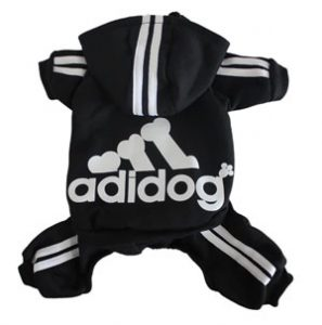 The Adidog is a play on the popular Adidas brand