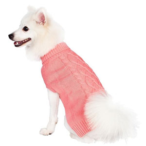 The Blueberry Pet Knit is a stylish sweater