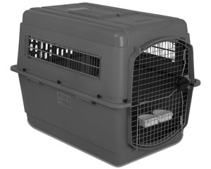 The Sky Kennel is available in much larger sizes than soft-sided carriers
