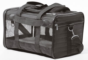 The Sherpa Deluxe is one of the best carriers with soft sides