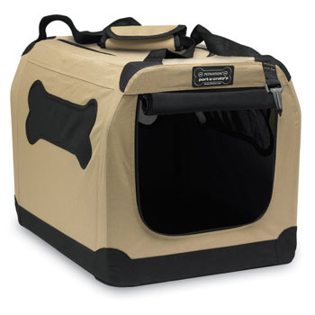 The Petnation is a lightweight and relatively cheap soft crate