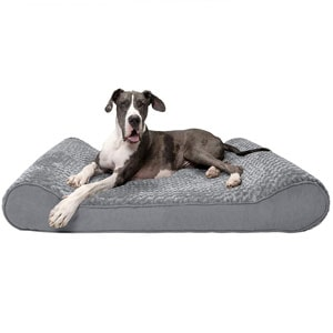 Furhaven luxe lounger cradle pet bed