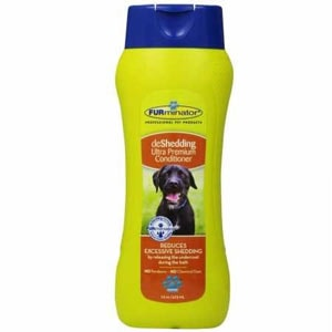 The FURminator deShedding doesn't only contain natural ingredients, but may be useful for dogs that shed a lot