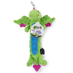 goDog Skinny Dragon with Chew Guard - examples of squeaky toys for dogs