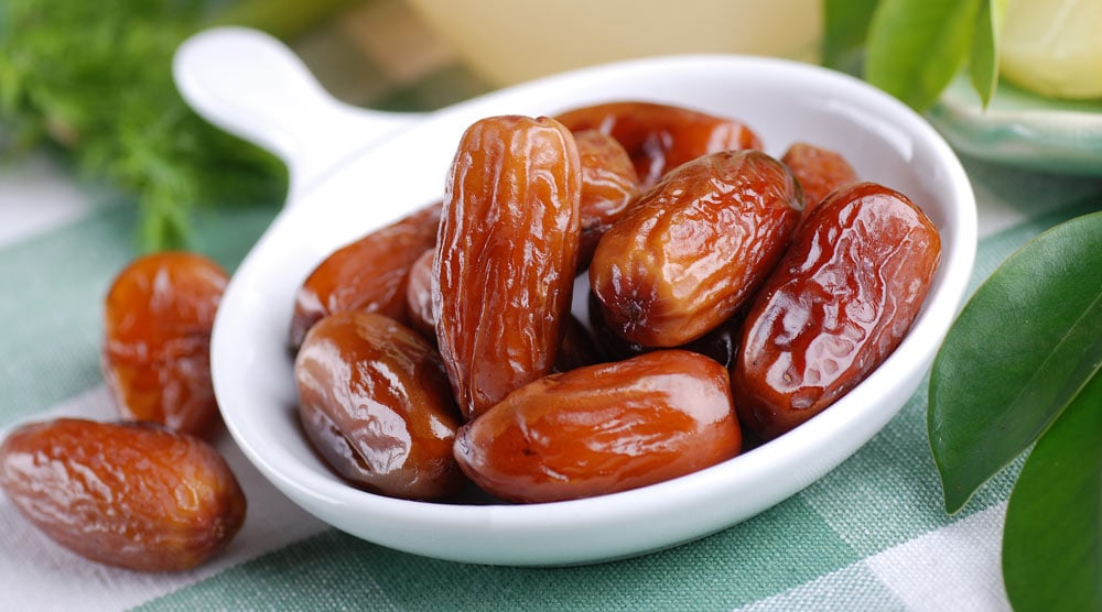 A spoon full of dates