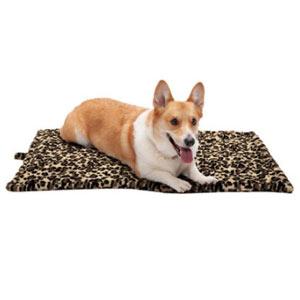 Faux Fur Self-Warming Dog Mat