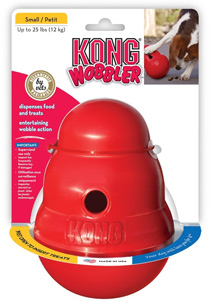 1. Kong Wobbler (Best All-Round Puzzle Feeder)