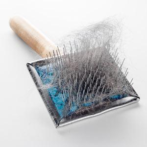 Example of a slicker brush
